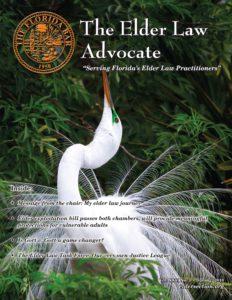 Spring 2018 Advocate Cover