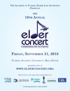 2018 Elder Concert